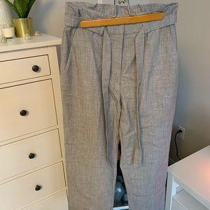 paper bag h&m trouser